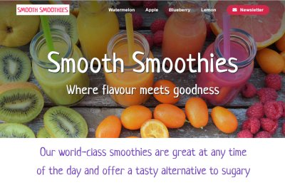 Project: Smooth Smoothies